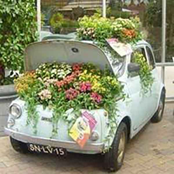 20 Creative Uses For Old Items Used As Garden Planters