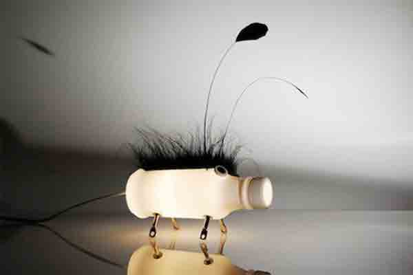 10 Lamps Made With Recycled Materials  Recycled Lamp Projects  DIY Lamps
